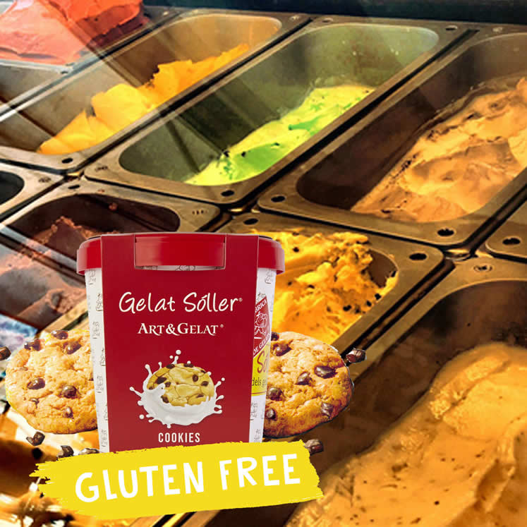 Gelat Sóller Cookies ohne Gluten 2,5L