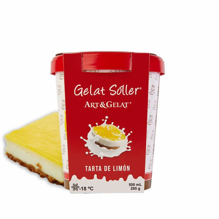 Eiscreme Geschmack Tarta de Limón Gelat Sóller 500ml