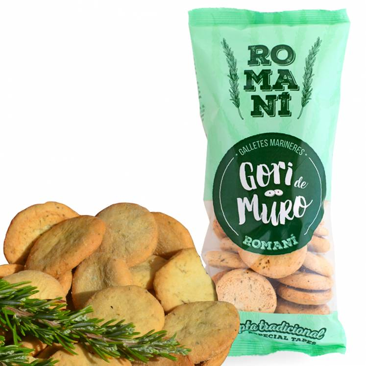 Gori de Muro Romani biscuits with olive oil and rosemary