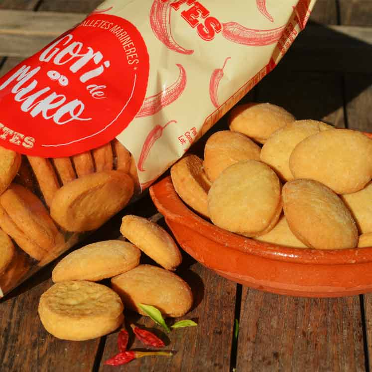 Gori de Muro Pikante Kekse mit Olivenöl und Paprika