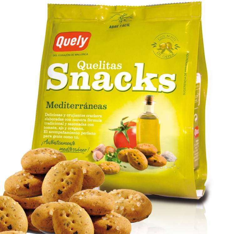 Quelitas Snacks Biscuits with mediterranean flavour