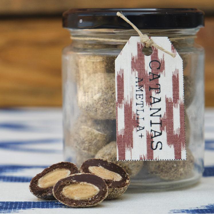 AMETLLA+ Catanias Chocolate almonds 140g