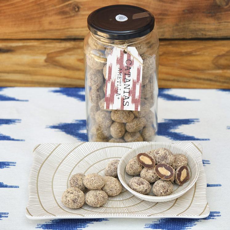AMETLLA+ Catanias Schokoladen Mandeln 520g