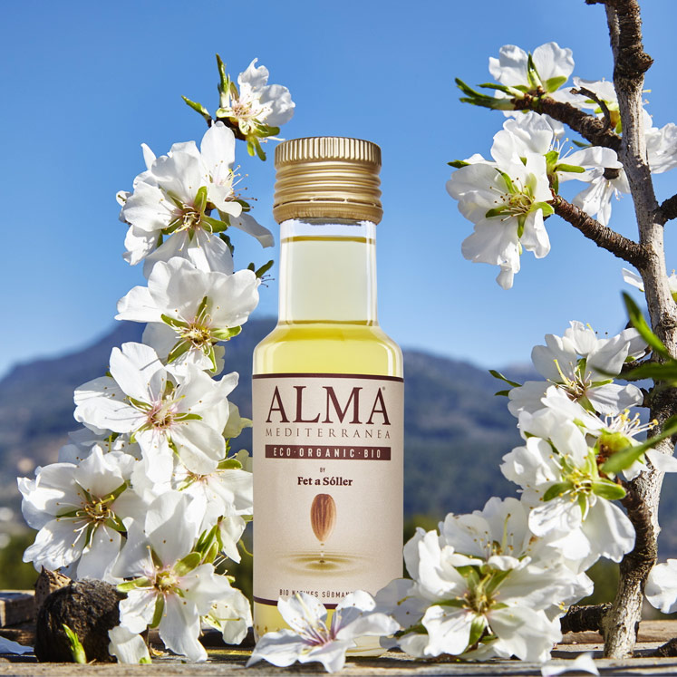 ALMA BIO süßes Mandelöl  vegan & glutenfrei