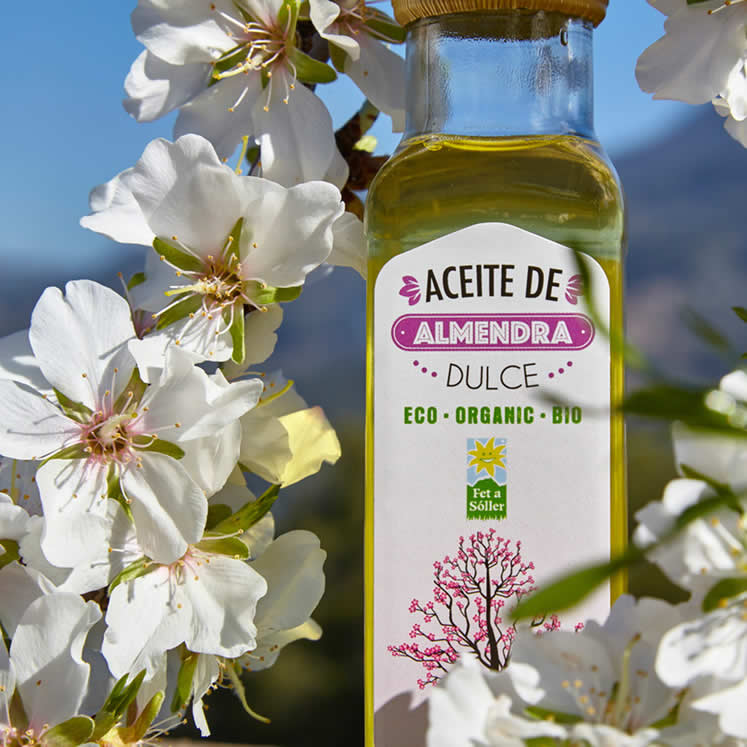 Sweet Almond Oil Extra Virgin Fet a Sóller