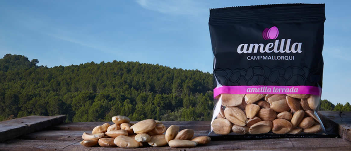 Camp Mallorqui Sweet Almonds roasted 100g