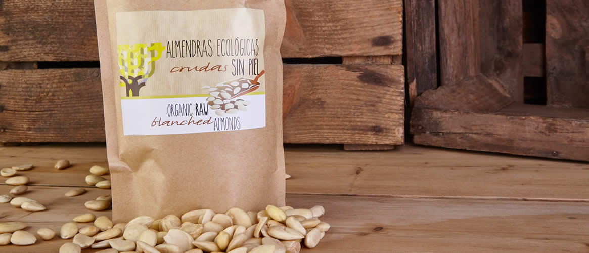 Mallorcafruits raw blanched almonds organic