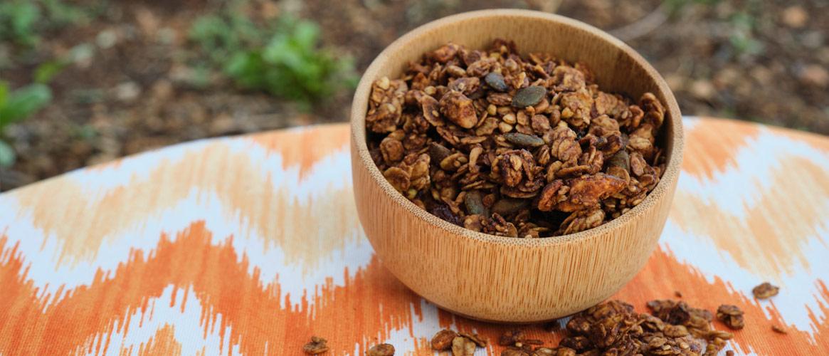 SENSE NOM Granola Mediterránia Almendra/Nueces Vegano