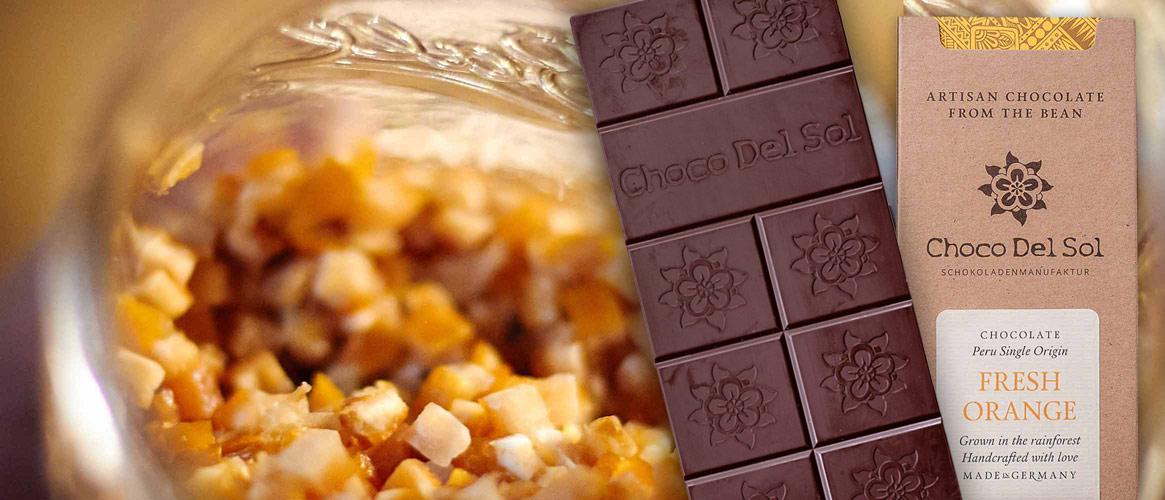 Choco Del Sol Bio Orangen Schokolade