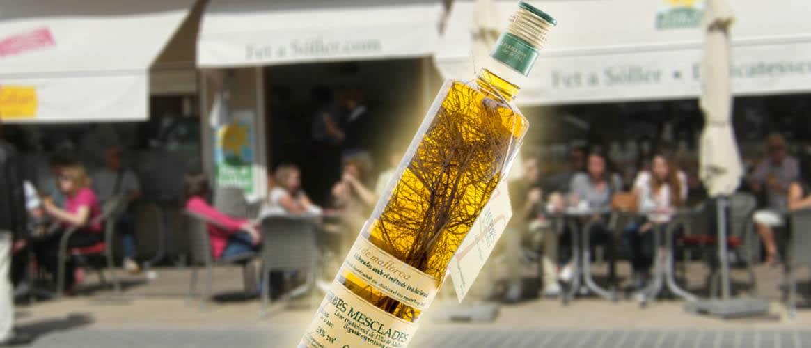 """Herb liqueur - """"Herbes mesclades de Mallorca"""""""