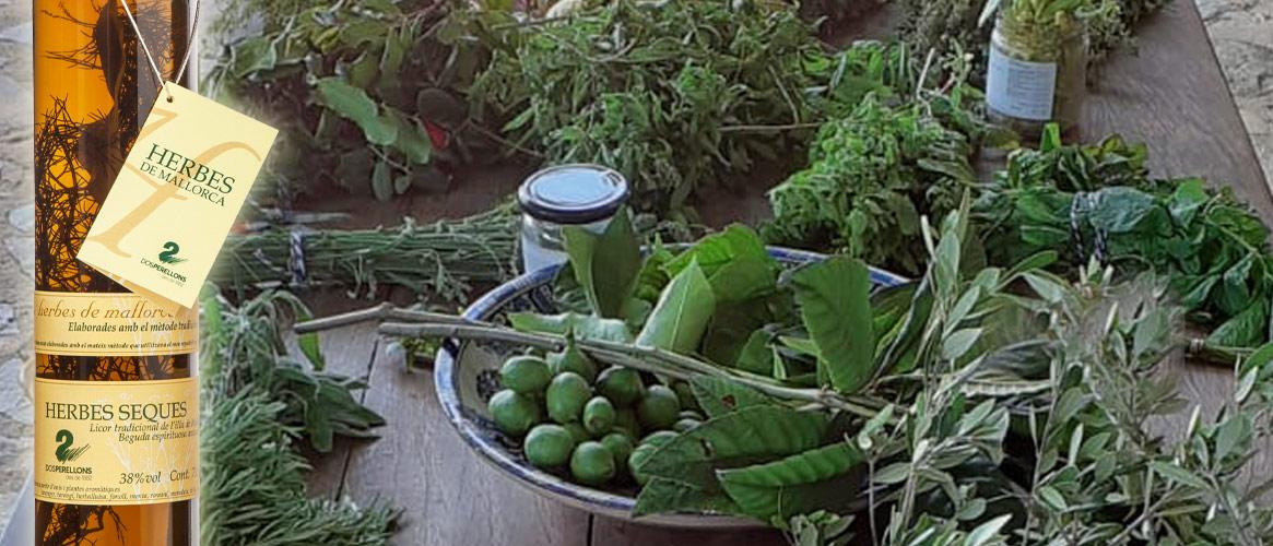 Dos Perellons Herbes Seques Liqueur d\\'herbes sèches