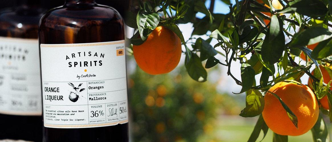 Artisan Spirits Orange Liqueur Orangenlikör