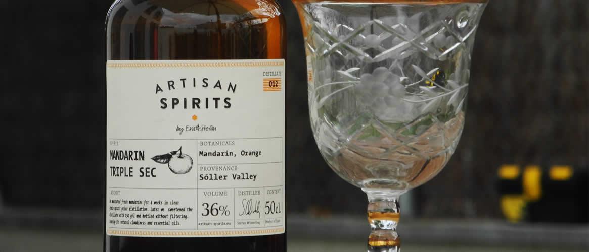 Artisan Spirits Liqueur Mandarin Triple Sec