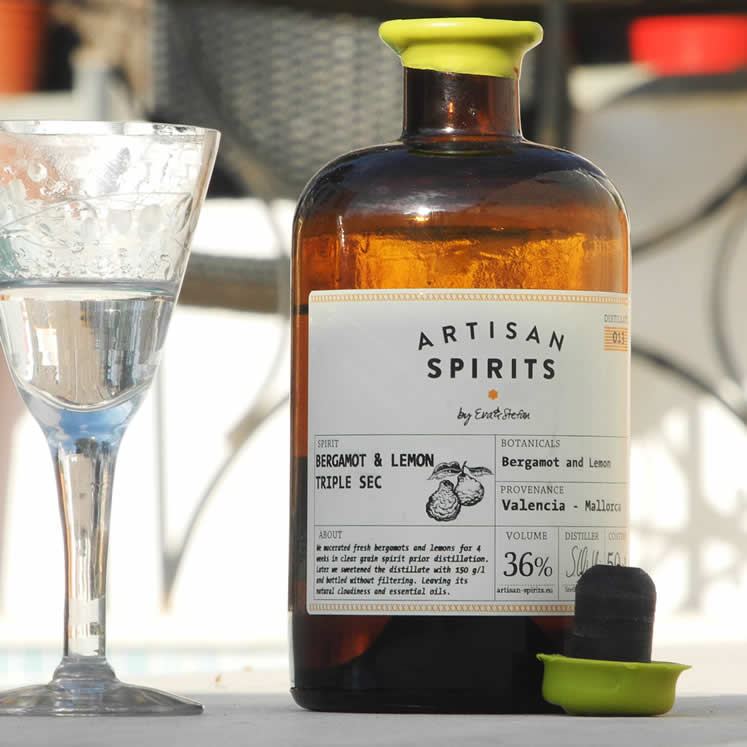 Artisan Spirits Liqueur Bergamot & Lemon