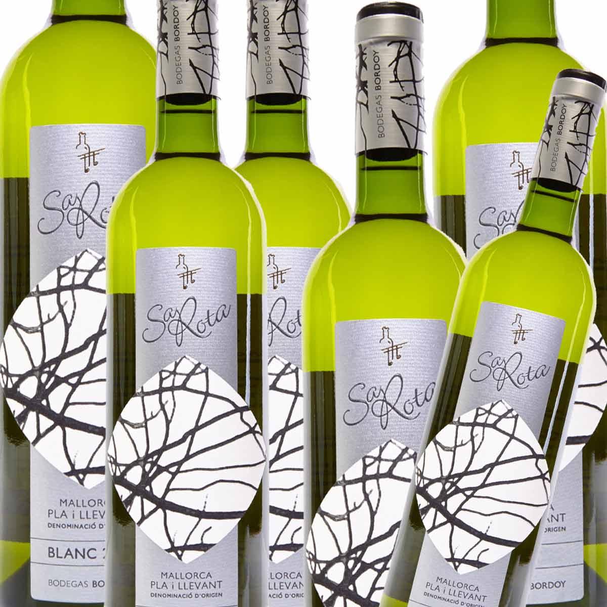6 x Bordoy Sa Rota Blanc D.O. Pla i Llevant Weißwein