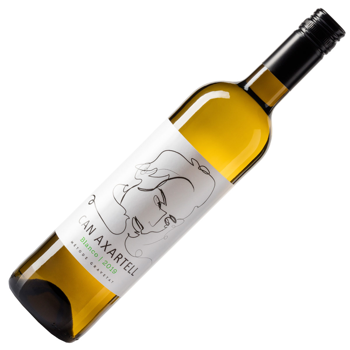 Can Axartell organic white wine