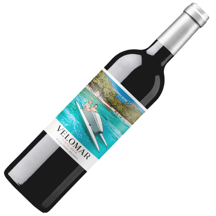Can Axartell Velomar Organic red wine