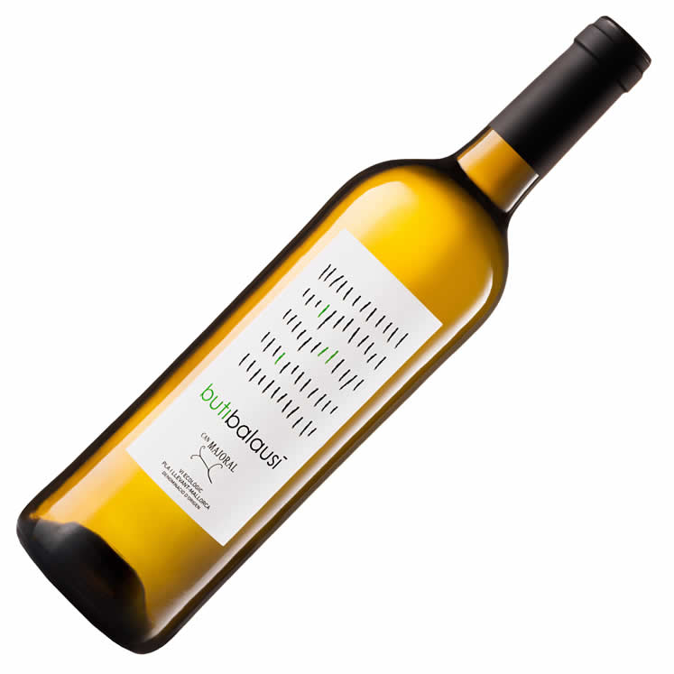 Can Majoral Butibalausí vino ecológico blanco