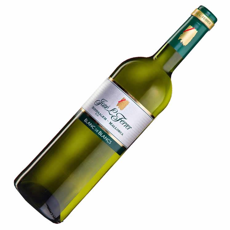 6 x Bodegas Ferrer Blanc de Blancs D.O. Binissalem Weißwein