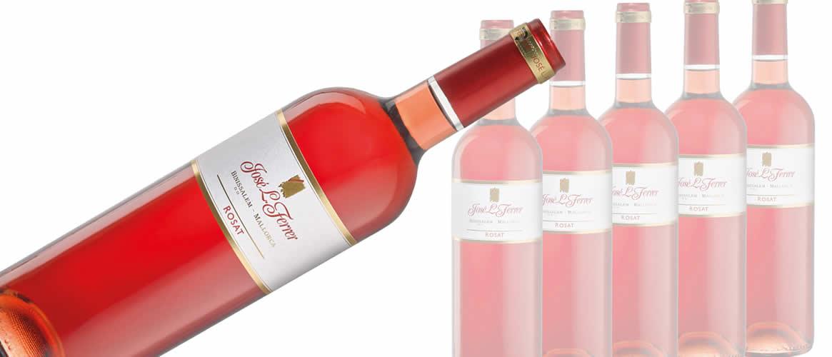 Box of 6 bottles Rosé wine, Bodegas Ferrer, D.O. Binissalem Mallorca