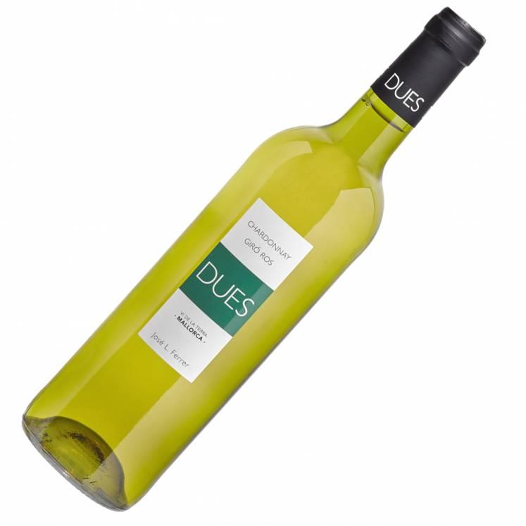 Chardonnay Giró Ros Dues Vi de la Terra Mallorca Weißwein