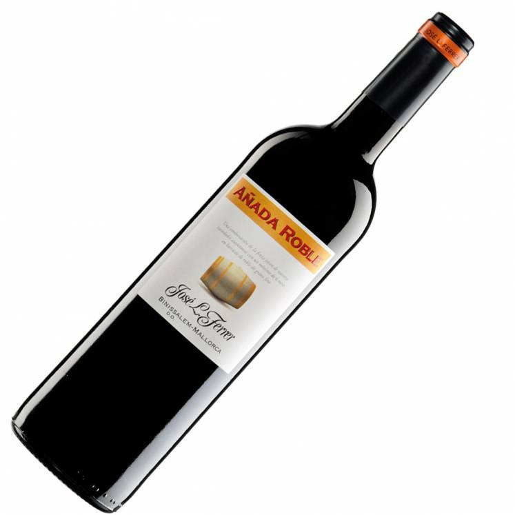 Red wine Semi Crianza, Añada Roble, winery Ferrer, D.O. Binissalem  Mallorca