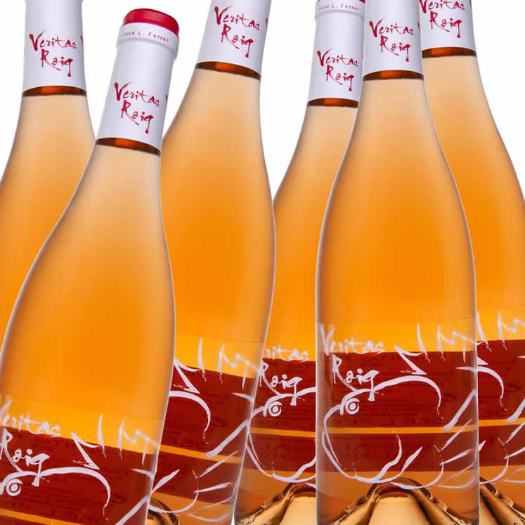 6 x Veritas Roig Rosé Wine, Bodegas Ferrer D.O. Binissalem