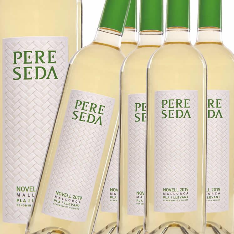 6 x Pere Seda Novell Blanc D.O. Pla i Llevant Weißwein