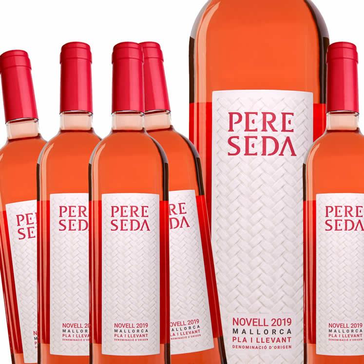 Pere Seda Novell Rosat, Rosé Wine, D.O. Pla i Llevant / Mallorca, box of 6