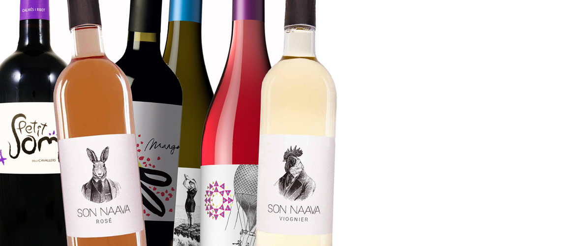 Organic Wine from Mallorca, 6 bottles red, white and rosé wine