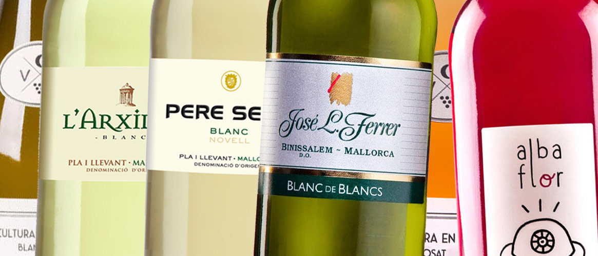 6 x Weißwein und Roséwein aus Mallorca