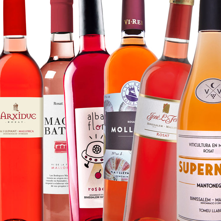 6 x Rosé wine from Mallorca