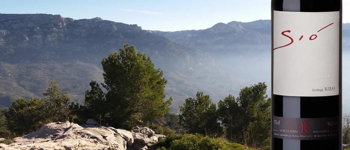 Sió, red wine, Bodegas Can Ribas, Vi de la Terra Mallorca