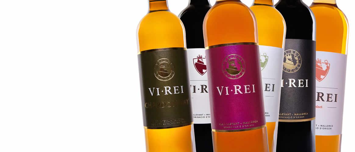 6 x Wein Vi Rei aus Mallorca