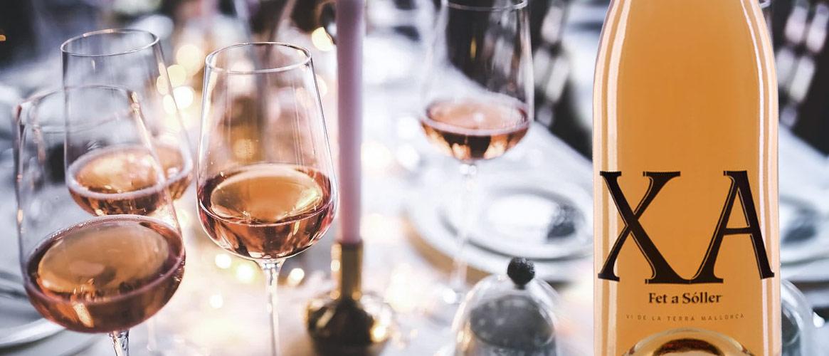 Xa rosat Vi de la Terra Mallorca Rosé Wein