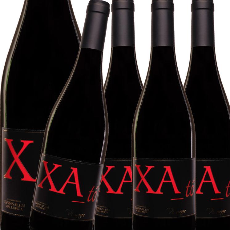 Redwine XA tó negre D.O. Binissalem, Mallorca - Box of 6 Bottles