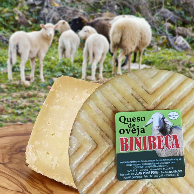 Binibeca Schafskäse reif