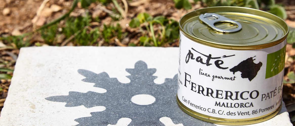 Ferrerico Paté ecológico