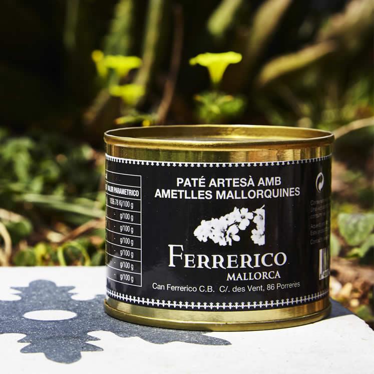 Ferrerico Paté Bio almendras Leberpastete mit Mandeln