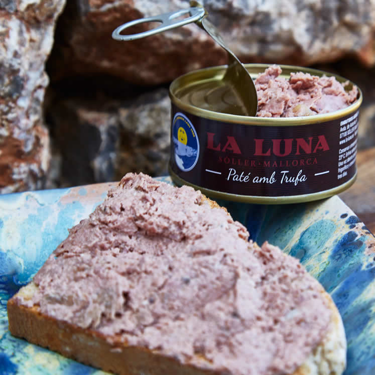 LaLuna liver pâté Etiqueta negra