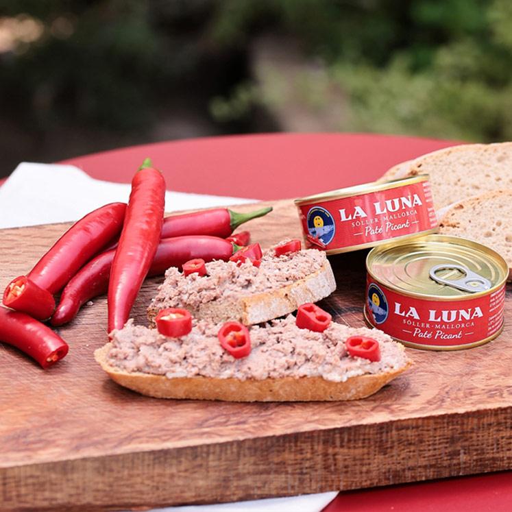 La Luna Paté Coent spicy liver pâté