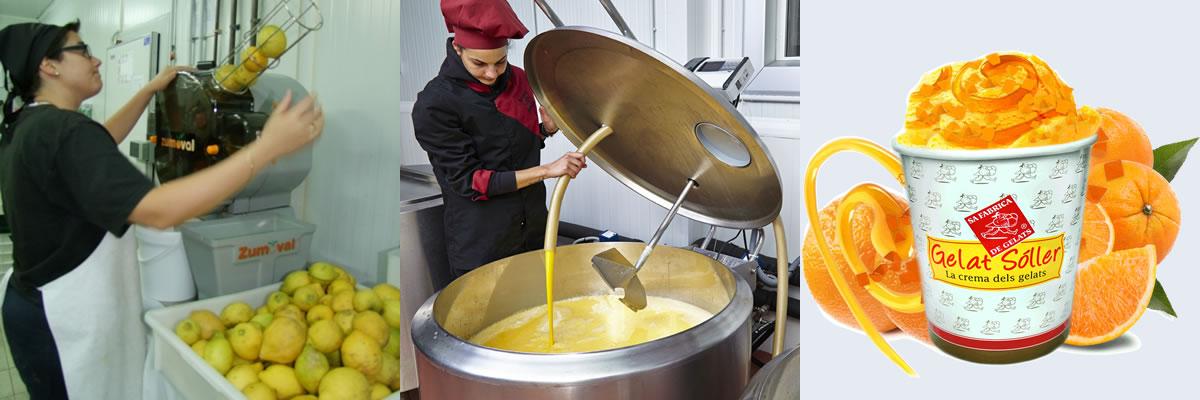 Besuchen Sie Sa Fabrica de Gelats in Sóller
