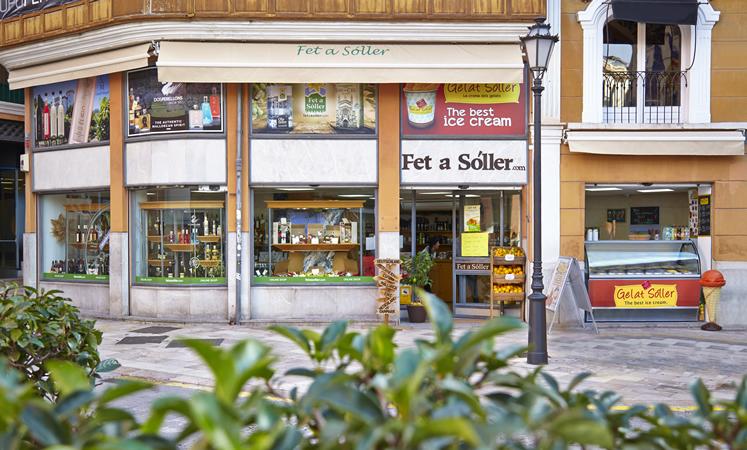 In der Altstadt von Palma, Plaza Cort